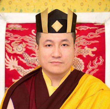 第十七世大寶法王聽列泰耶多傑 The 17th Karmapa Thaye Dorje
