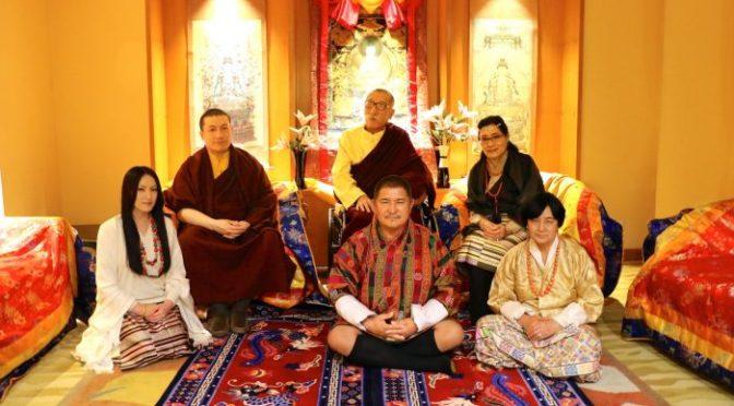 第十七世大寶法王嘉華噶瑪巴及妻子仁青央宗,很高興宣布他們的第一個孩子