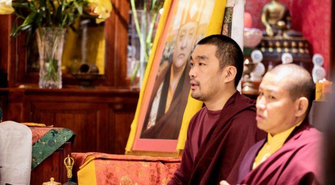 洽美仁波切 在 藏曆新年的第一天 的開示